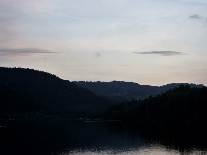 Tramonto sul Titisee