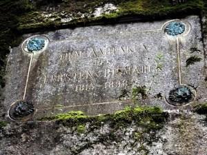Targa commemorativa in onore di Bismark