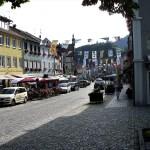 Il centro cittadino di Wolfach