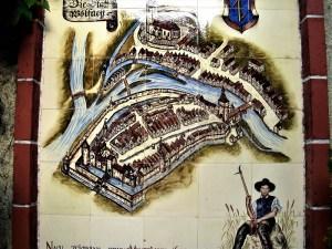 Mappa dell'antica Wolfach