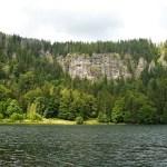 Sponda rocciosa del Feldsee