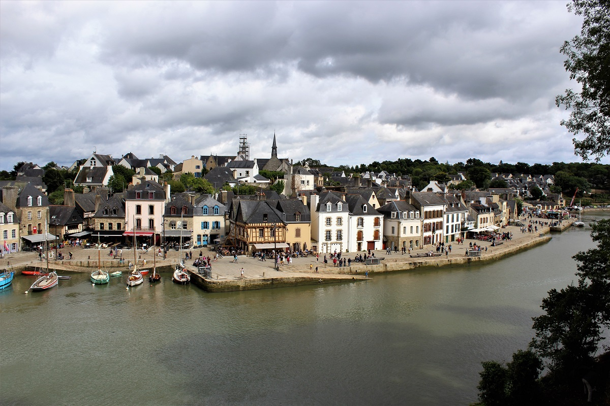 Auray port saint goustan e pont neuf