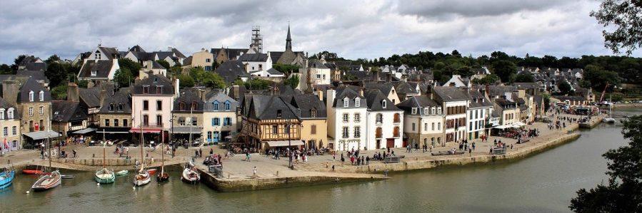 Auray e Il port de Saint Goustan sul Morbihan