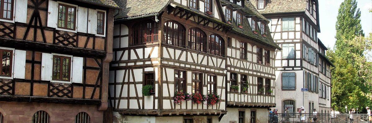 Strasburgo case a graticcio Petite france
