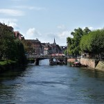 Strasburgo vista del fiume