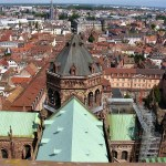 Vista dalla cattedrale Strasburgo