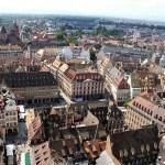 Strasburgo vista dalla cattedrale