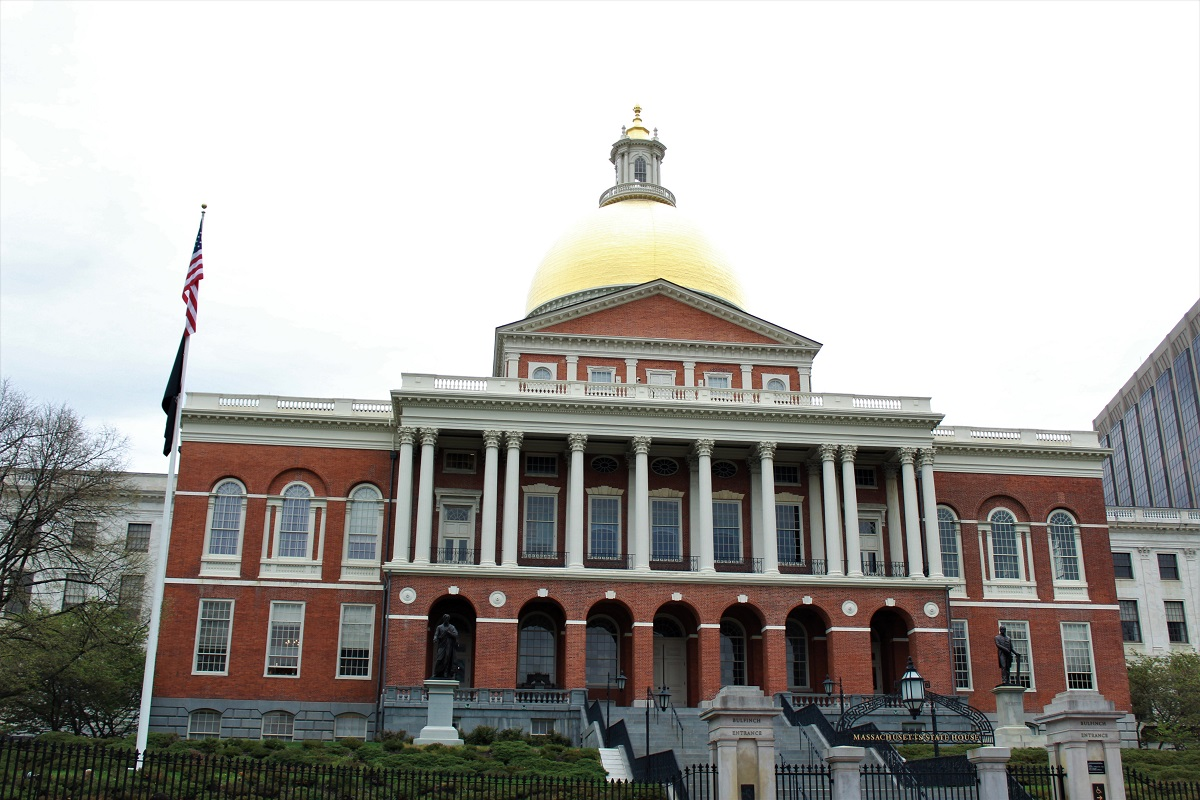 Freedom Trail - Boston Massachusetts state house