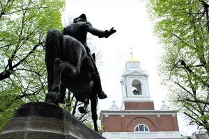 Boston Freedom Trail - paul revere north End