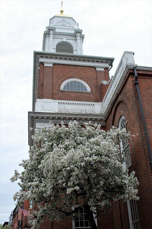 Boston Freedom Trail - il campanile di St Stephen Church