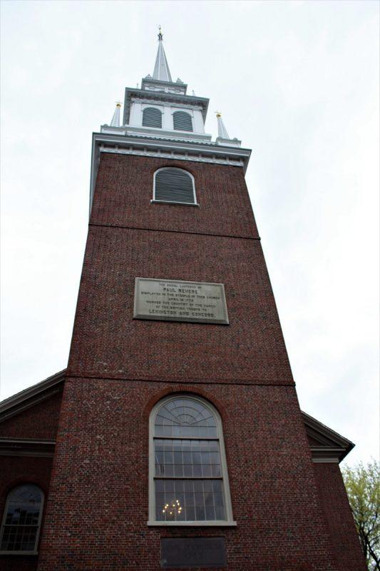 Boston Freedom Trail -Old North Church