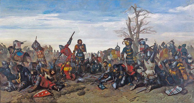 Le Combat des Trente, opera del 1857