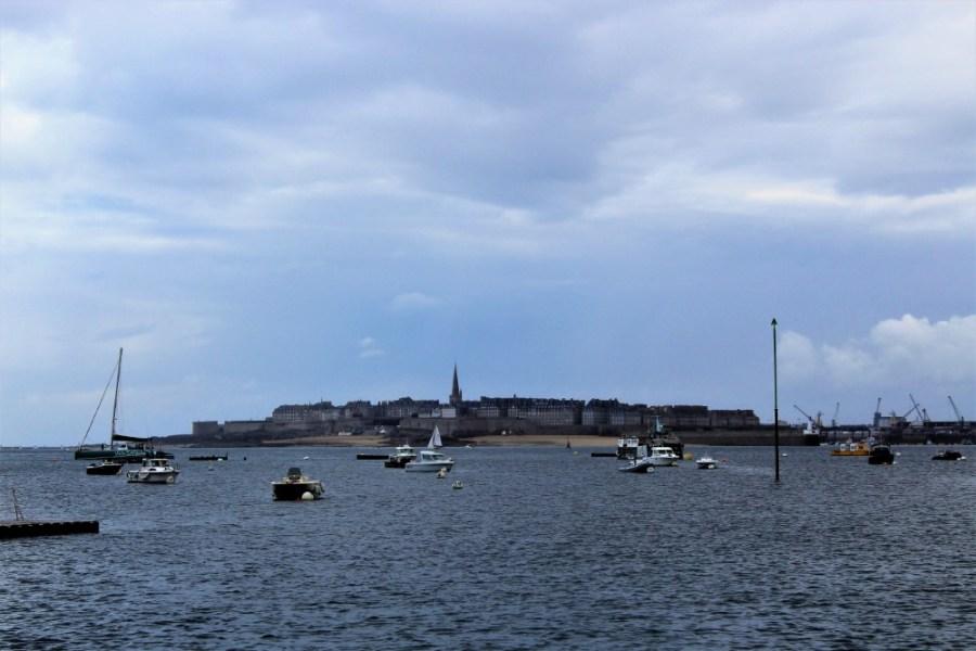 Saint-Malo vista da Dinard
