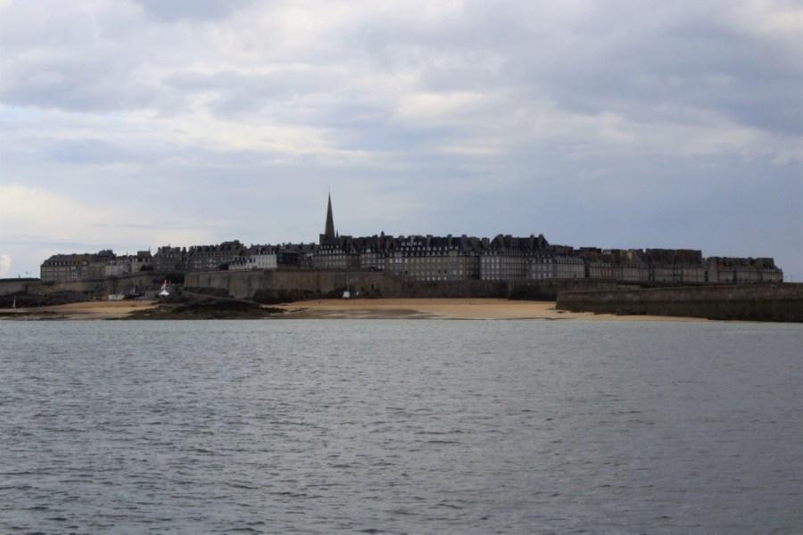 Arrivo a Saint-Malo