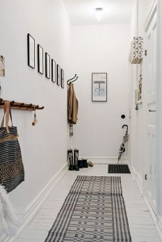 An uncomplicated entryway design.