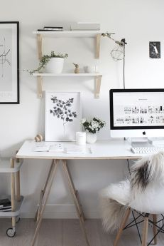 Find a desk that has enough room for you to do all your work.