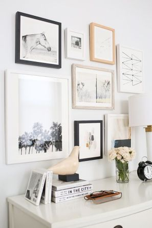 A gorgeous gallery wall.