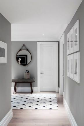 A toned-down entrance.