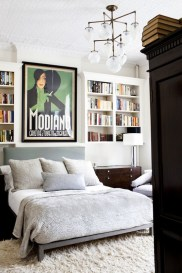 Turn your room into an oversized reading nook with comfortable covers and comforters.