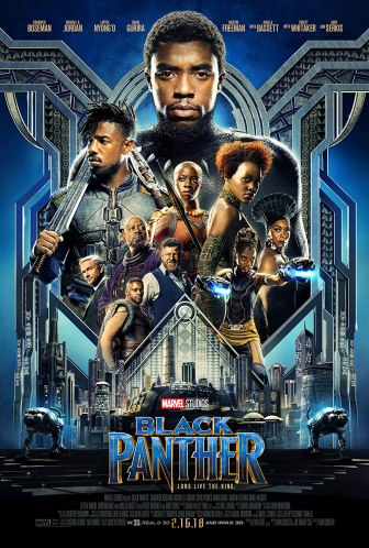The Machine Black Panther Poster