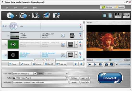 Tipard Total Media Converter 9.2.36 Crack With Registration Code 2021 Free