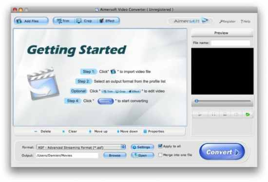 Aimersoft Video Converter 6.1.0 Crack With Registration Code 2021