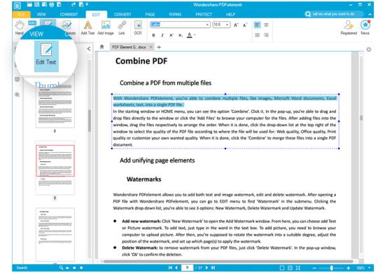 Wondershare PDFelement 7.6.8 Crack With Registration Code 2021 Free