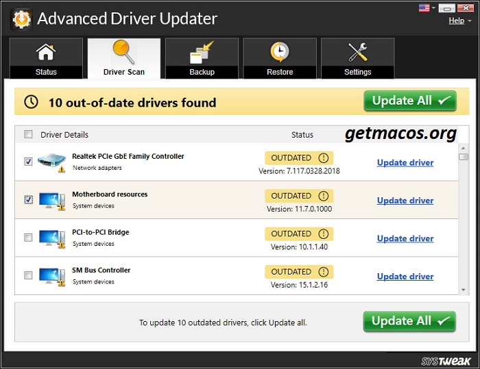 Advanced Driver Updater 4.5.1086 Crack With License Key 2021 Free