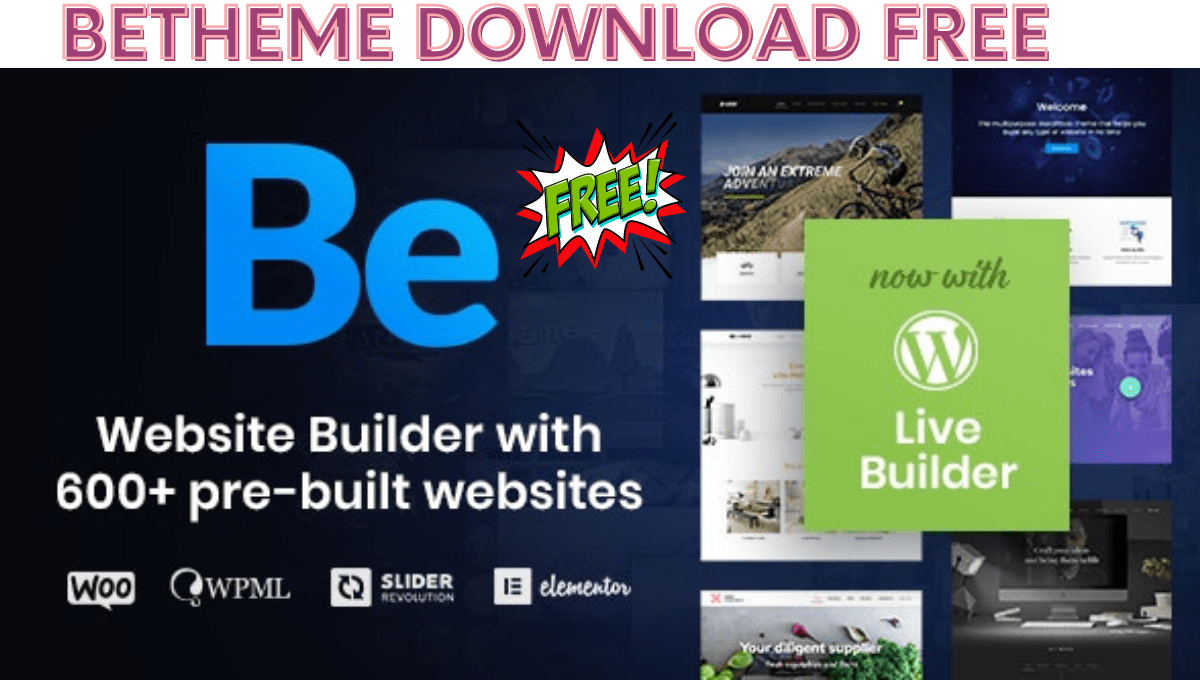You are currently viewing Betheme  GPL Responsive Multipurpose WordPress free theme