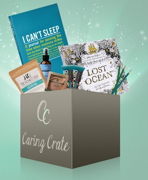Caring crate is a subscription that you can send to those you love; it's all about self-care.
