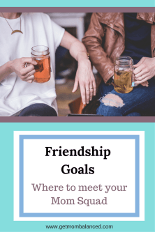 Meaningful friendships can be so hard to create. To start to build your mom squad, you need to know where to find potential mom friends and how to start to build the relationship. Read now or pin for later.