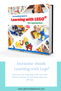 This Unofficial Guide to Learning with Lego will give you hours of Lego fun, while teaching STEAM principles (Aff link)