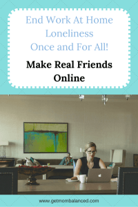 When you're working from home, it can be lonely. But you can make real friends online. Learn how. Read now or pin for later.