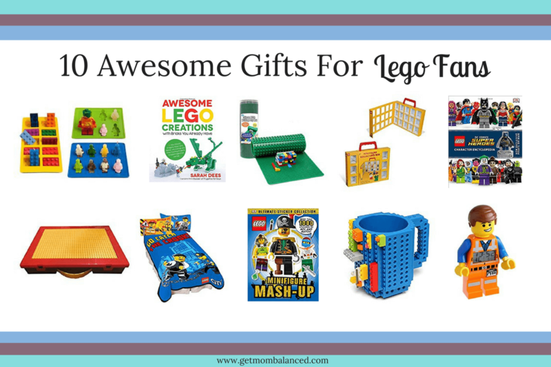 10 awesome non-brick lego gifts for Lego fans. Lego sets aren't the only awesome gifts that you can get for anyone who loves lego. You'll love these gift ideas.