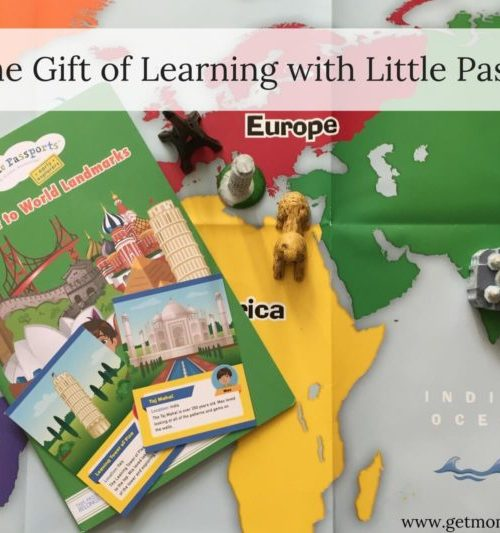 Give the gift of learning with Little Passports. A great gift for kids to educate and inspire.