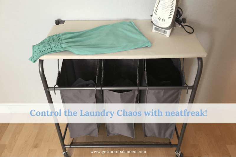 Control the laundry chaos with this awesome triple sorter by Neatfreak!