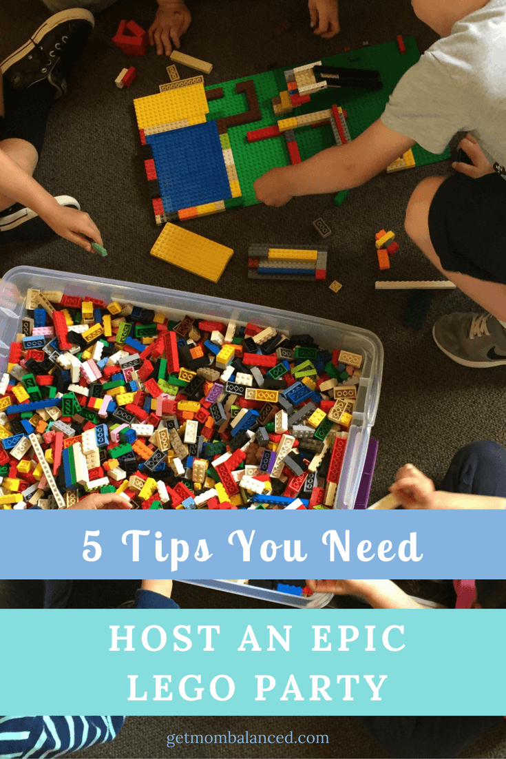 How to host an epic LEGO party | Play-Well TEKnologies helps you host a LEGO party that everyone will love! | Sponsored