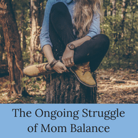 Finding work-life balance as a mom is an ongoing struggle | Learn how to deal with the challenges of being a work at home mom