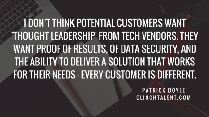 Get Recruitment Tech Clients - Patrick Doyle