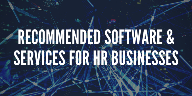 Recommended Software & Services For HR Businesses