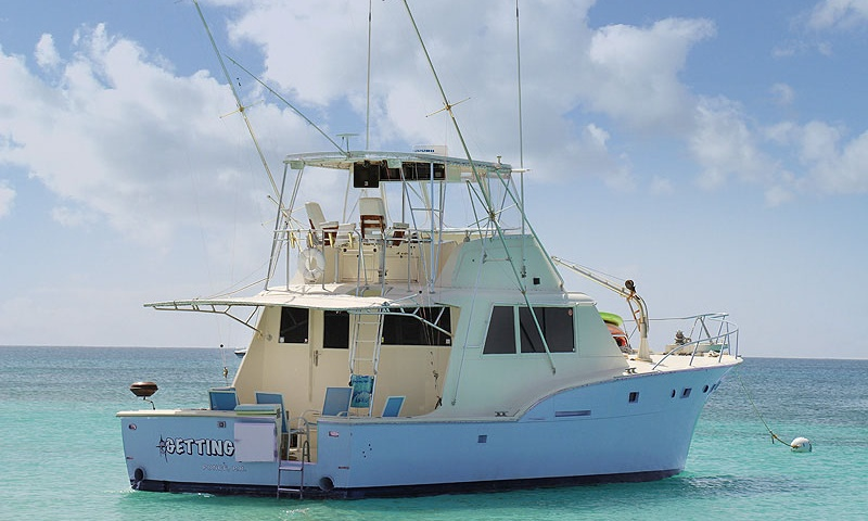 Fishing Charter On 53ft Hatteras Yacht In Ponce Puerto Rico G