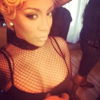 [Photos] K. Michelle (@kmichelle) Shows Off Her Enormous Sized Assets #Getmybuzzup