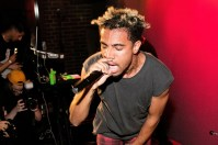 CHICAGO, IL - JULY 17: Vic Mensa performs at Pitchfork after-party at Virgin Hotels Chicago with a performance by Vic Mensa at The Virgin Hotel on July 17, 2015 in Chicago, Illinois. (Photo by Jeff Schear/Getty Images for Virgin Hotels Chicago)