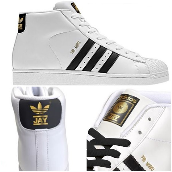 Jam Master Jay's New Adidas Sneakers-A
