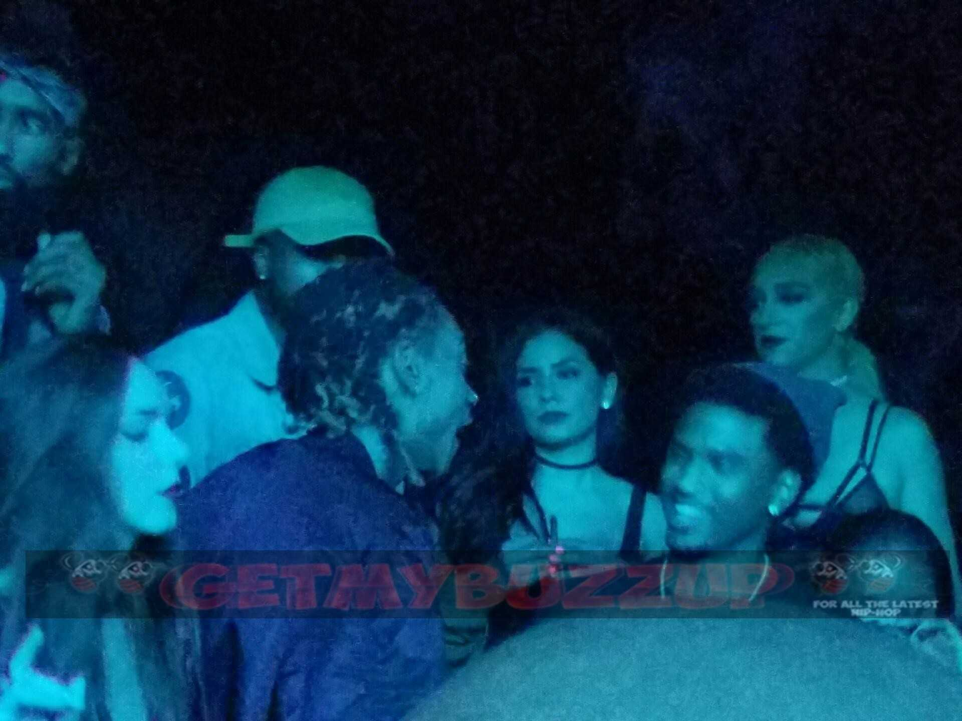 Celeb Sighting: Wiz Khalifa Parties inside The Argyle Hollywood Nightclub after offering some words for Kanye [Photos]