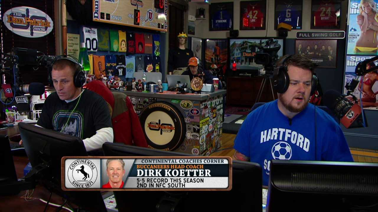 Dirk Koetter on The Dan Patrick Show (Full Interview)