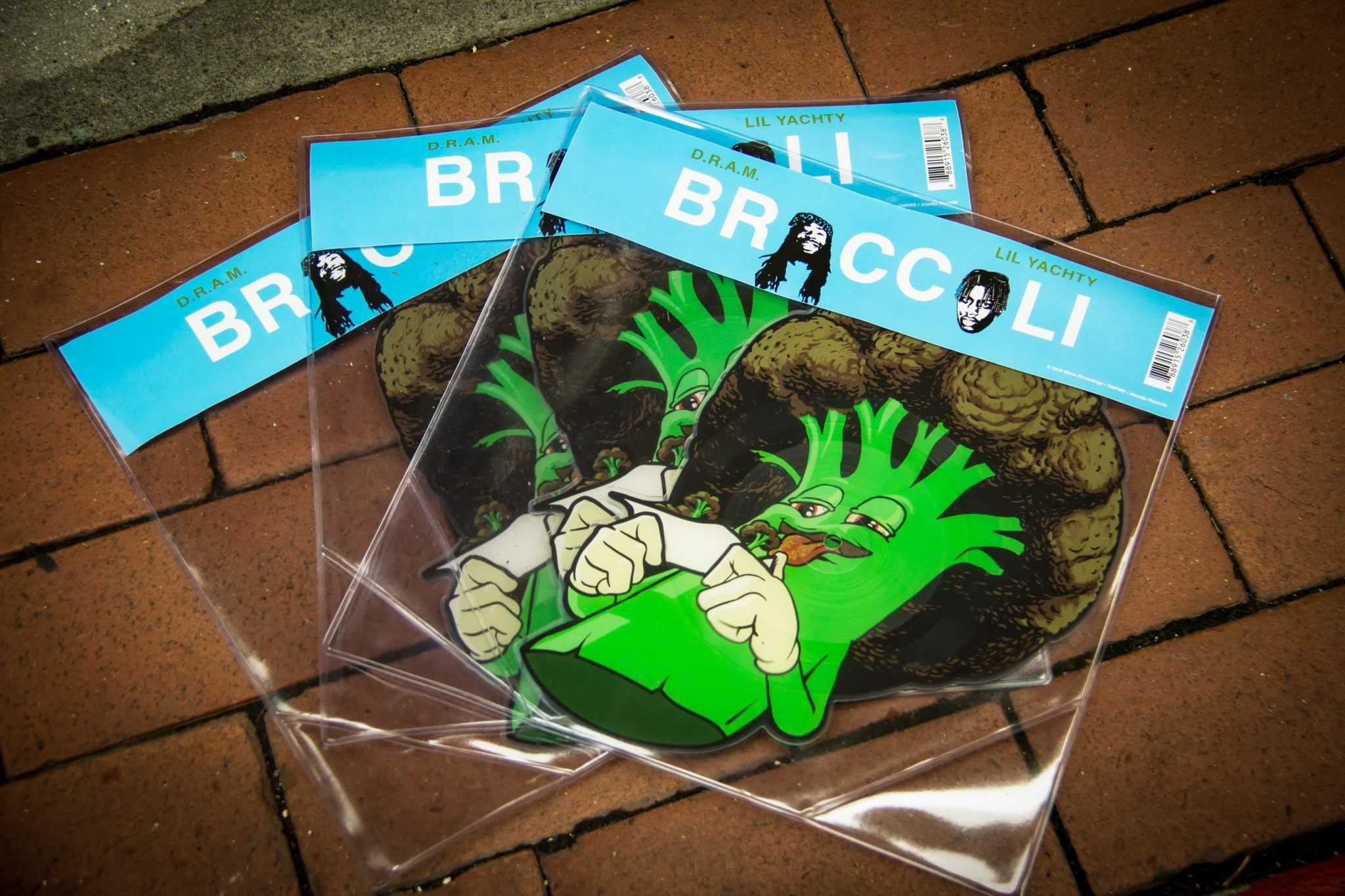 """D.R.A.M. releases """"Broccoli"""" single on vinyl for Record Store Day"""