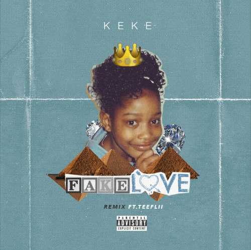 "New Music: Keke Palmer - ""Fake Love"" (Remix) Ft. TeeFlii [Audio]"