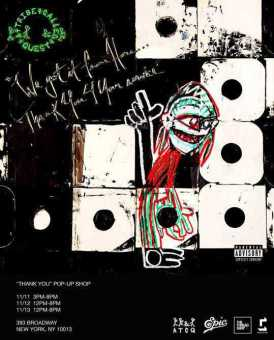 """ALBUM STREAM: A TRIBE CALLED QUEST - """"We Got It From Here… Thank You 4 Your Service"""" [Audio]"""