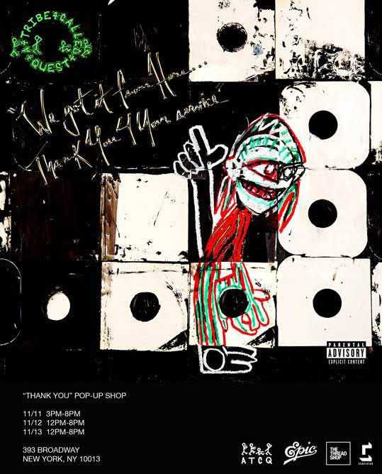"ALBUM STREAM: A TRIBE CALLED QUEST - ""We Got It From Here… Thank You 4 Your Service"" [Audio]"